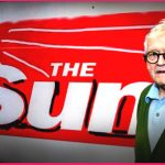 David Hockney's masthead redesign for The Sun newspaper