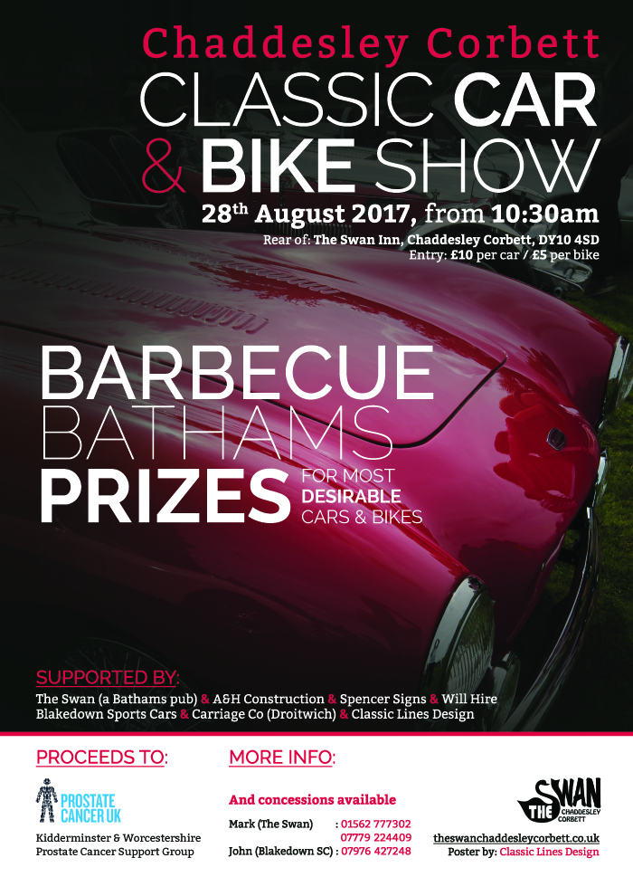 Classic Car & Bike Show poster